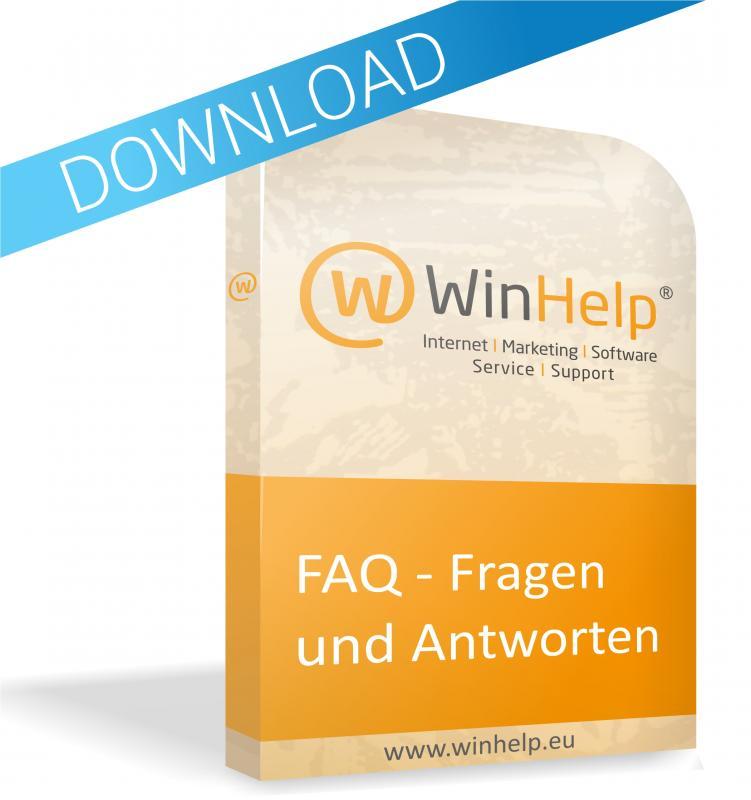 WinHelp® Modul - Fragen & Antwort
