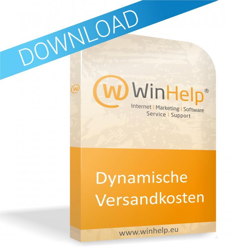 WinHelp® Modul - Dynamische Versandkosten